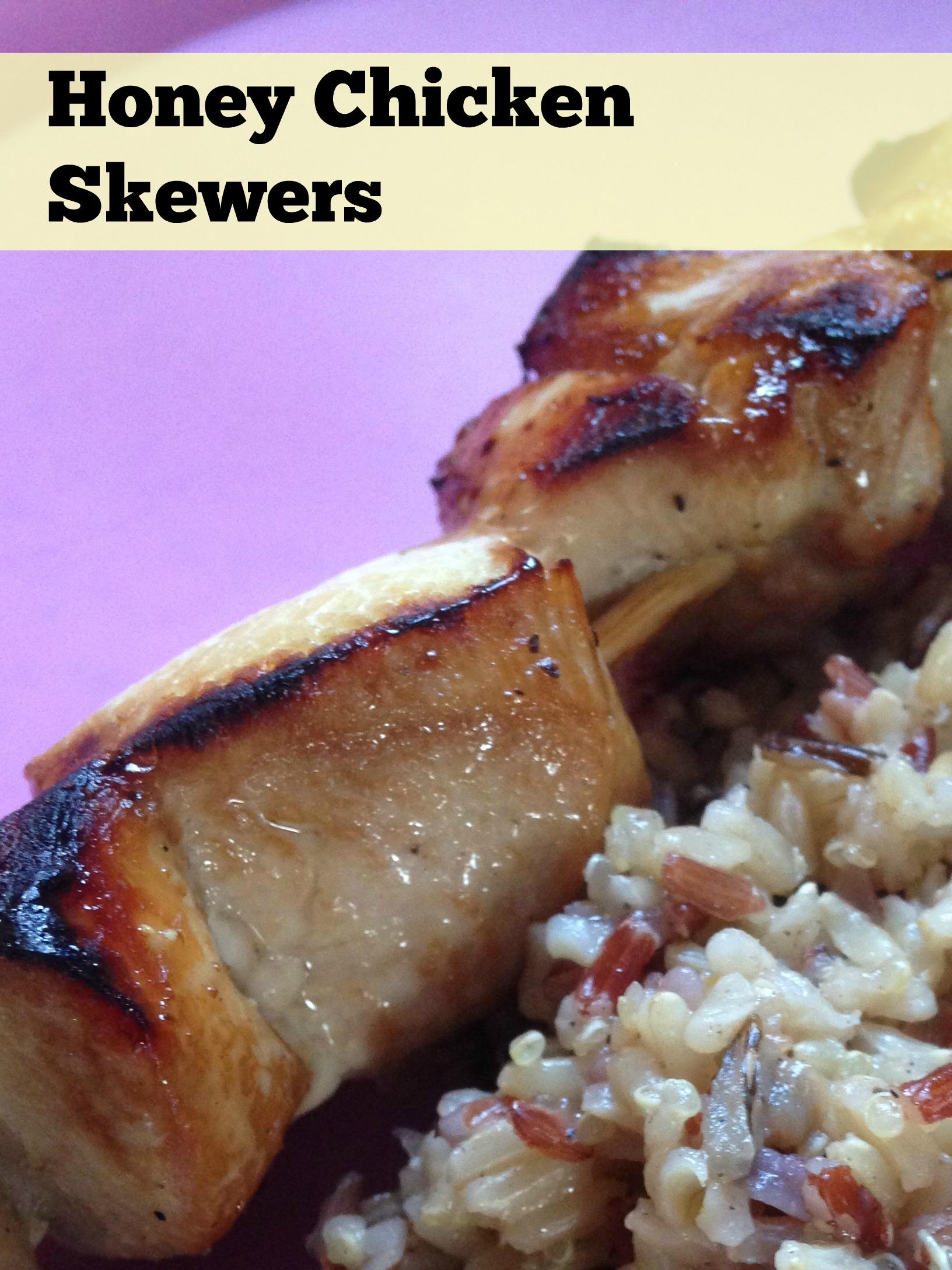 Day 8 – Honey Chicken Skewers – CJessGoGetFit – Jessica Praeger