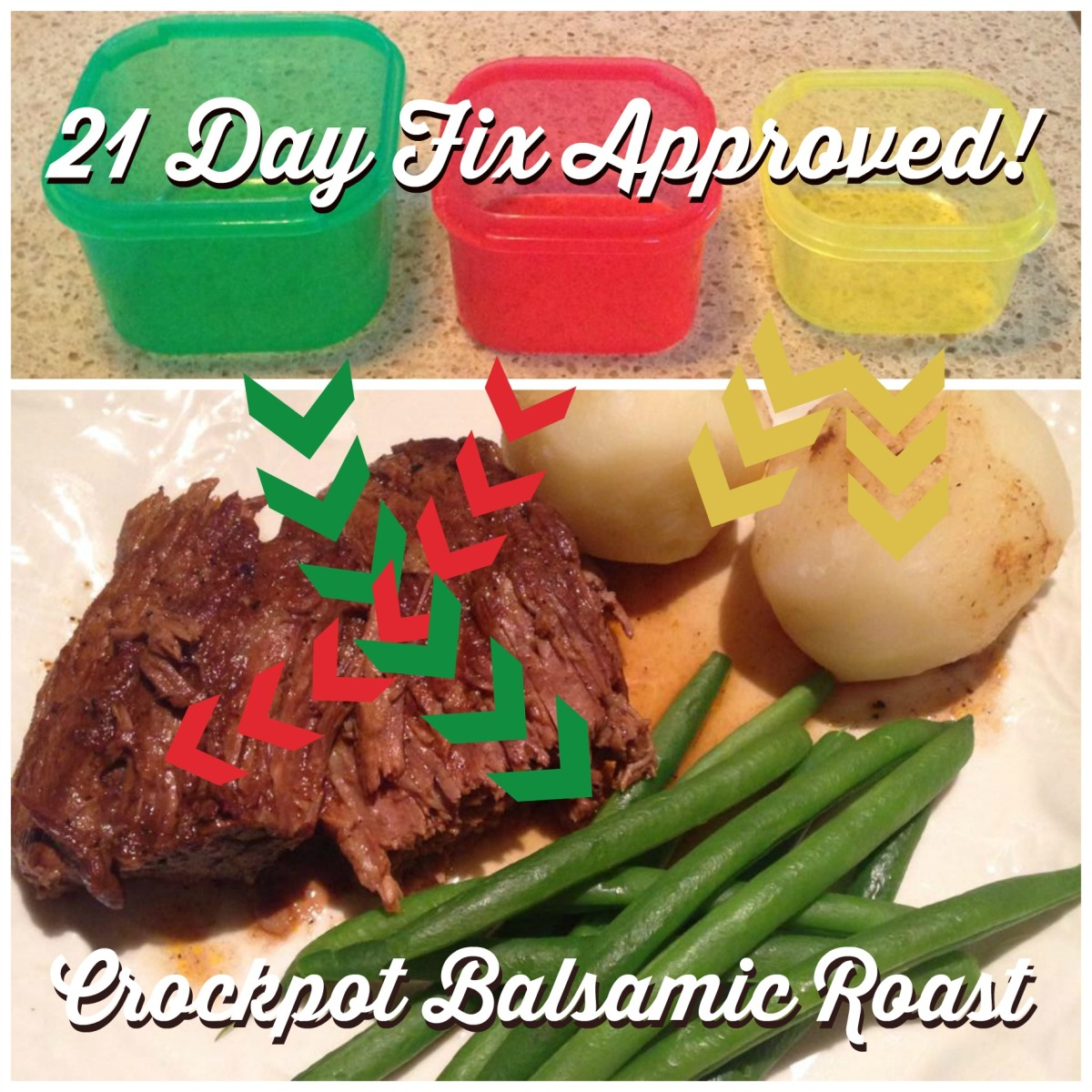 Crockpot Balsamic Roast