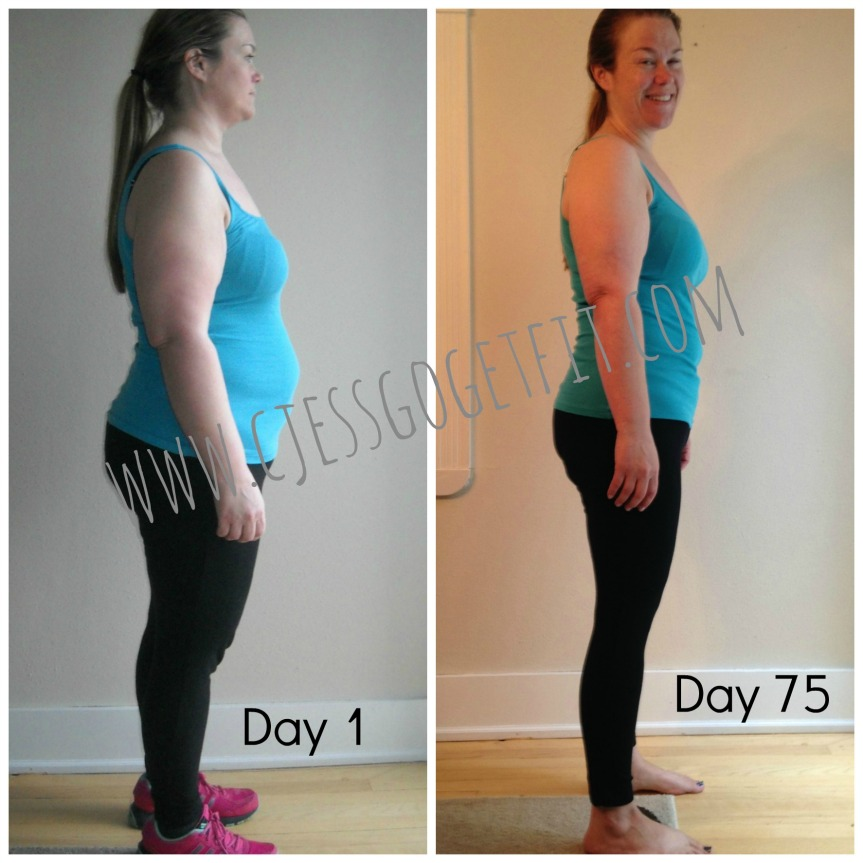 My personal results when I started with 21 Day Fix!
