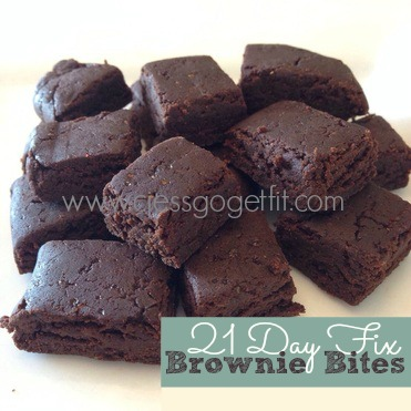 21 Day Fix Brownie Bites