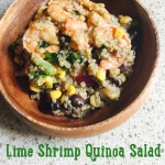 Lime Shrimp Quinoa