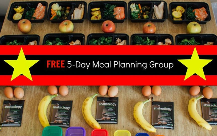 FREE 5 Day Meal Planning Group