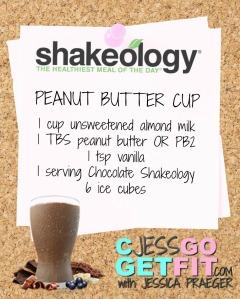 SHAKEOLOGY RECIPE PB CUP