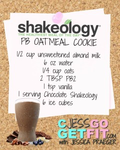 SHAKEOLOGY RECIPE PC OATMEAL COOKIE