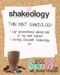 SHAKEOLOGY RECIPE thin mint