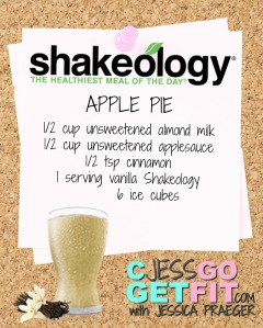 SHAKEOLOGY RECIPE VANILLA apple pie
