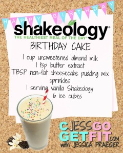 SHAKEOLOGY RECIPE VANILLA birthday