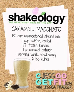 SHAKEOLOGY RECIPE VANILLA caramel