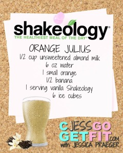 SHAKEOLOGY RECIPE VANILLA ORANGE JULIUS