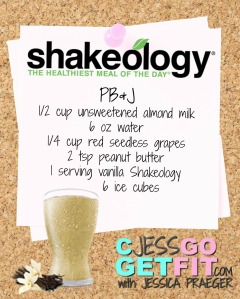 SHAKEOLOGY RECIPE VANILLA PBJ