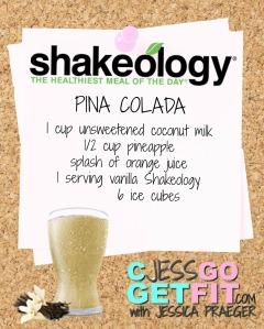 SHAKEOLOGY RECIPE VANILLA pinacolada