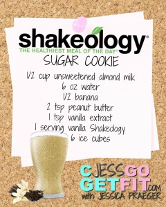SHAKEOLOGY RECIPE VANILLA SUGAR COOKIE