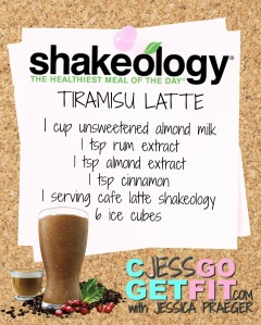 SHAKEOLOGY RECIPEtiramisu latte