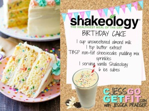birthday cake shakeo