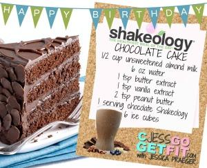 choc cake shakeo bday