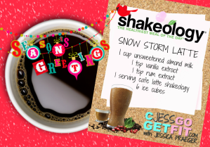 seasons greetings shake